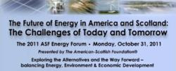 Who Will Pay For The Green Economy : New York Talks to Scotland of the Challenges